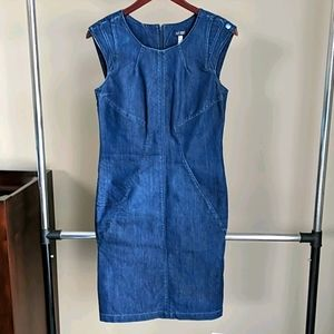 Armani Jeans blue denim dress 6